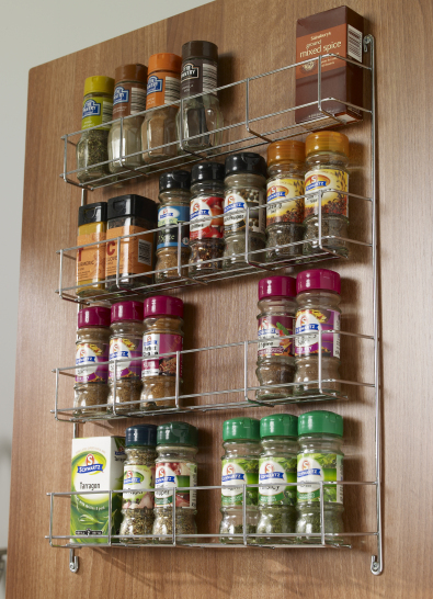 3 tier spice rack to suit 300mm wide door