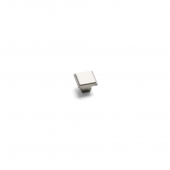 WESTMINSTER, Square Knob, Brushed Nickel WESTMINSTER, Square Knob, Brushed Nickel
