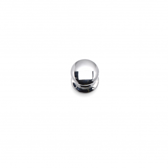 WINDSOR, Round Knob, 40mm, Chrome