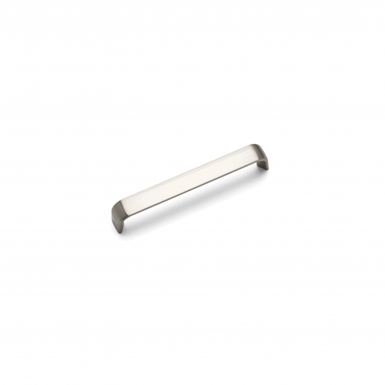 CAMDEN 'D' Handle, 128mm, Brushed Nickel