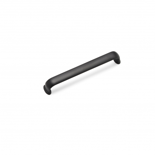 BONN, 'D' Handle, 160mm Centres, Black