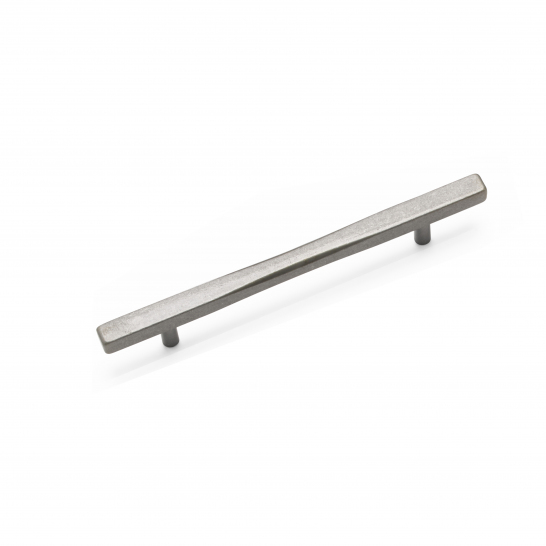 LEON, Bar Handle, 160mm Centres, Pewter