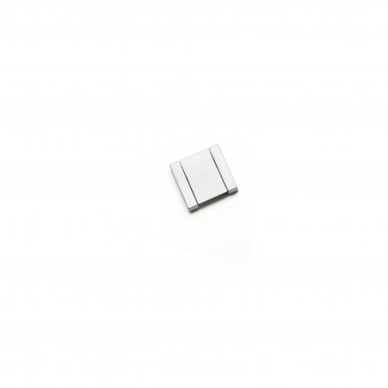 DIJON, Tab Handle, 32mm Centres, Satin Chrome