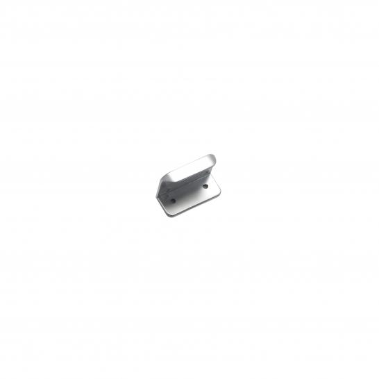 KENSINGTON, Rear Fixed Base Handle, 50mm In Length, Satin Chrome
