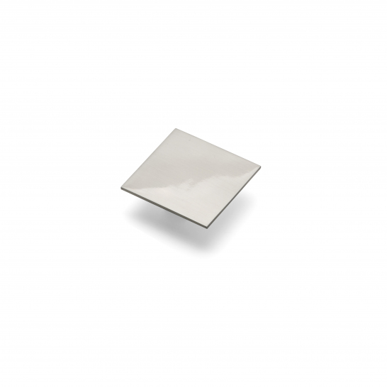 SLAB, Square Handle, 32mm Centres, Brushed Nickel
