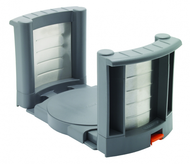 Plate holder to suit plates 180-320mm dia., grey