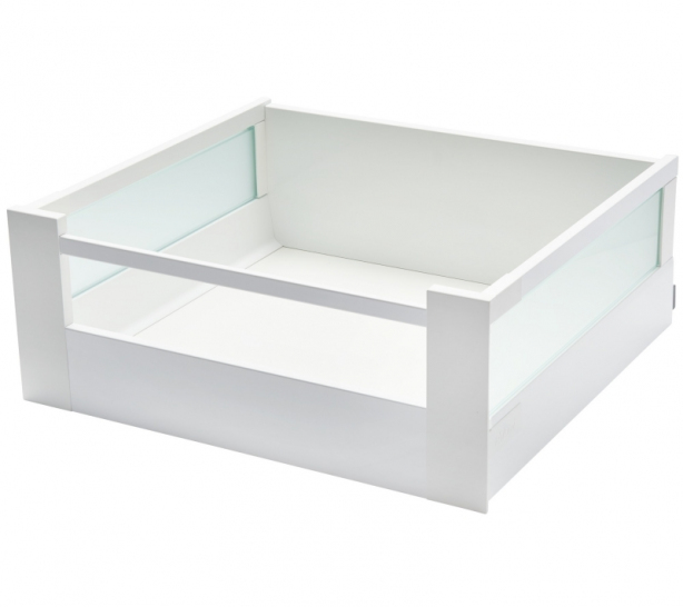 TANDEMBOX antaro, 'D' Height, To Suit 300mm wide unit with 18mm Thick Carcase, Silk White