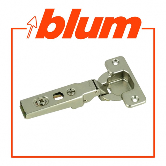 CLIP TOP / CLIP HINGE, OVERLAY, 100° Opening, Overlay, Screw-On