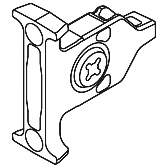 BLUMZSF35A2 front fixing brackets