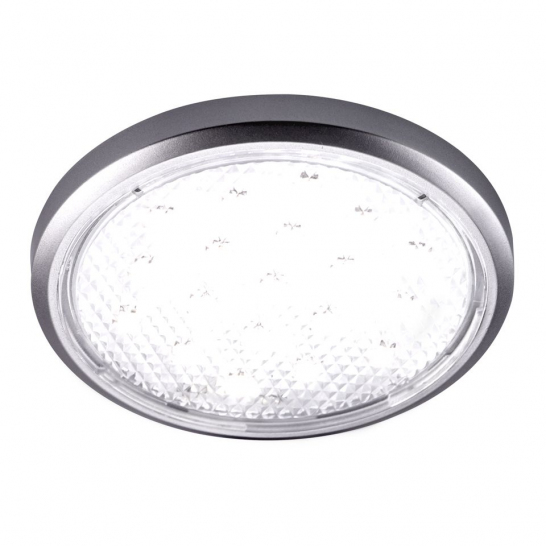 CALIDA -LED Flat Disc Light, Single Light, Cool White