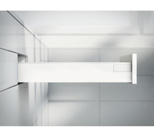 TANDEMBOX antaro 83mm High ('M' Height), 270mm Deep, Silk White (Pair)