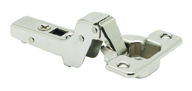CLIP TOP / CLIP HINGE, INSET, 107° Opening, Inset Application, Screw-On
