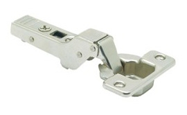 CLIP TOP / CLIP HINGE, DUAL, 107° Opening, Dual Application, Screw-On