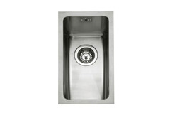 Mode 20 stainless steel 1 bowl inset or undermount sink