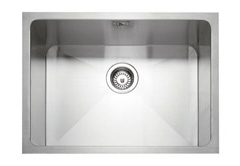 Mode 50 stainless steel 1 bowl insert or undermount sink