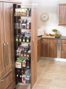 Full height larder with full extension