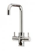 Zuben Quad monobloc tap, polished chrome