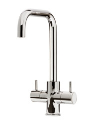 Zuben Quad monobloc tap, polished chrome
