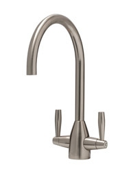 Avel monobloc tap, brushed nickel