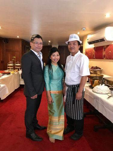 Chef Art, Mim and Chef Sangkhom