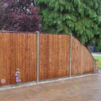 Solid Timber Fencing