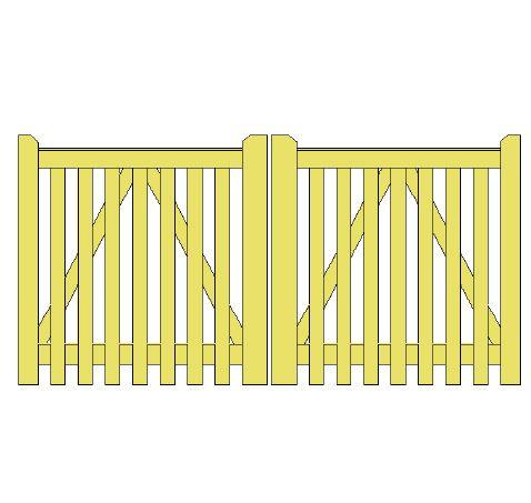 Saxmundham gates