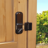Keypad locking knob