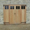 Bi Folding Doors in Douglas Fir