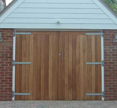 & Solid Garage Doors