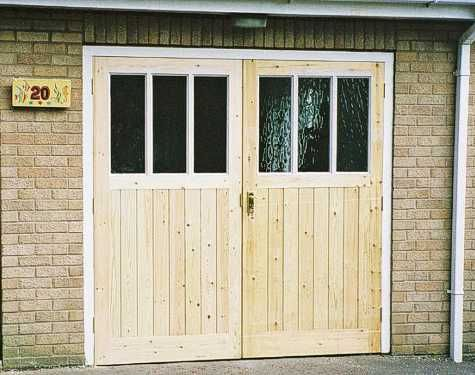 Glazed Garage Doors