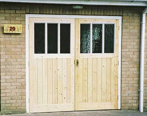 Glazed Garage Doors