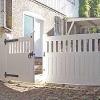 Softwood Entrance Gates
