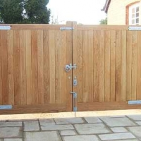 Hardwood Entrance Gates