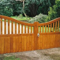 Softwood gates