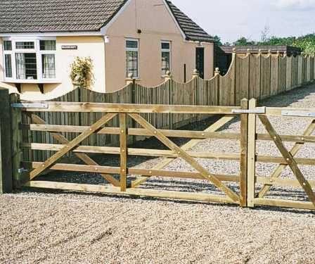 Kennett 5 bar gate