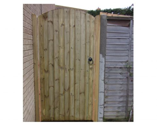 Glemham Gate - Curved Cut Boards