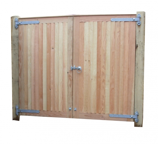 Premium Haughley Gates in Douglas fir.