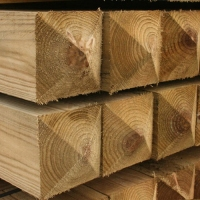 Softwood Posts & Wall plates