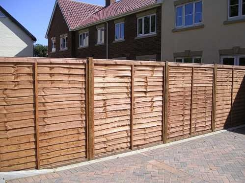 Waney Panel Fencing