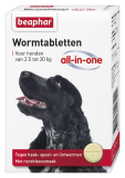 Wormtabletten All-in-one hond 2,5 - 20kg 2st.