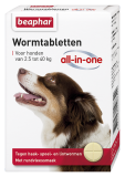 Wormtabletten All-in-One hond 2,5-40kg 4st.