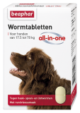Wormtabletten All-in-One hond 17,5 - 70kg 2st.