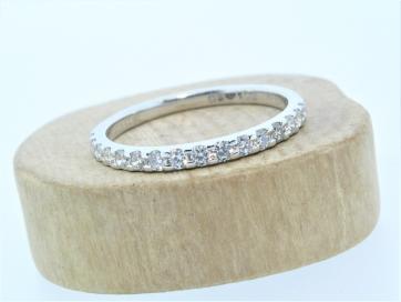 Platinum 0.33ct Claw Set Diamond Ring