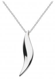 "Kit Heath Bevel Wave Necklace 18"""