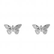 Muru Butterfly Studs Silver