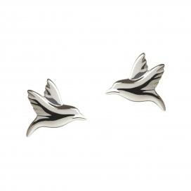 Muru Hummingbird Studs Silver