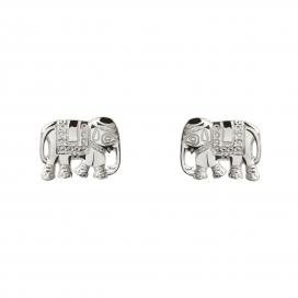 Muru Elephant Studs Silver