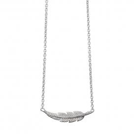Muru Feather Necklet Silver