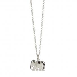 Muru Elephant Pendant Silver