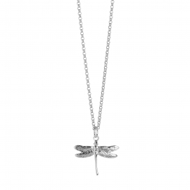 Muru Silver Dragonfly Pendant